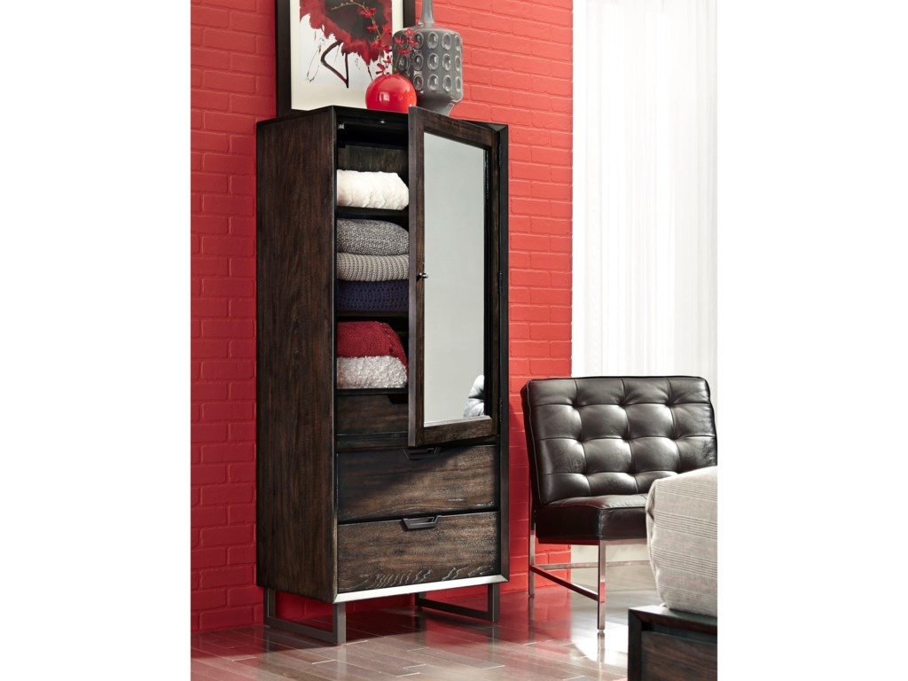 Aspenhome Harper PointTall Door Chest