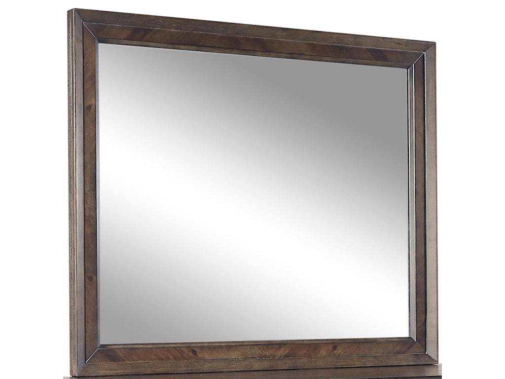 Aspenhome Harper PointLandscape Mirror