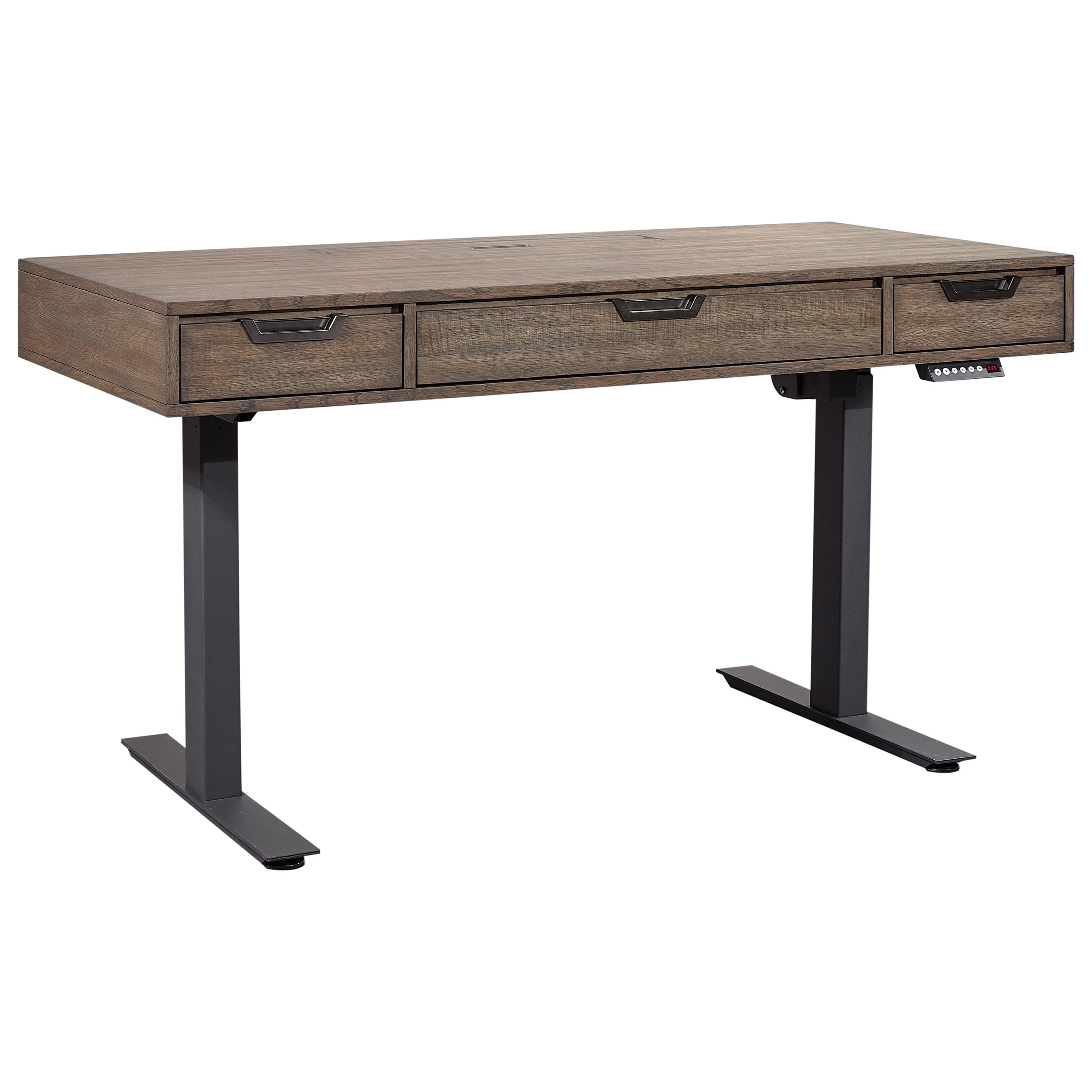 Aspenhome Harper Point Contemporary Adjustable Lift Desk
