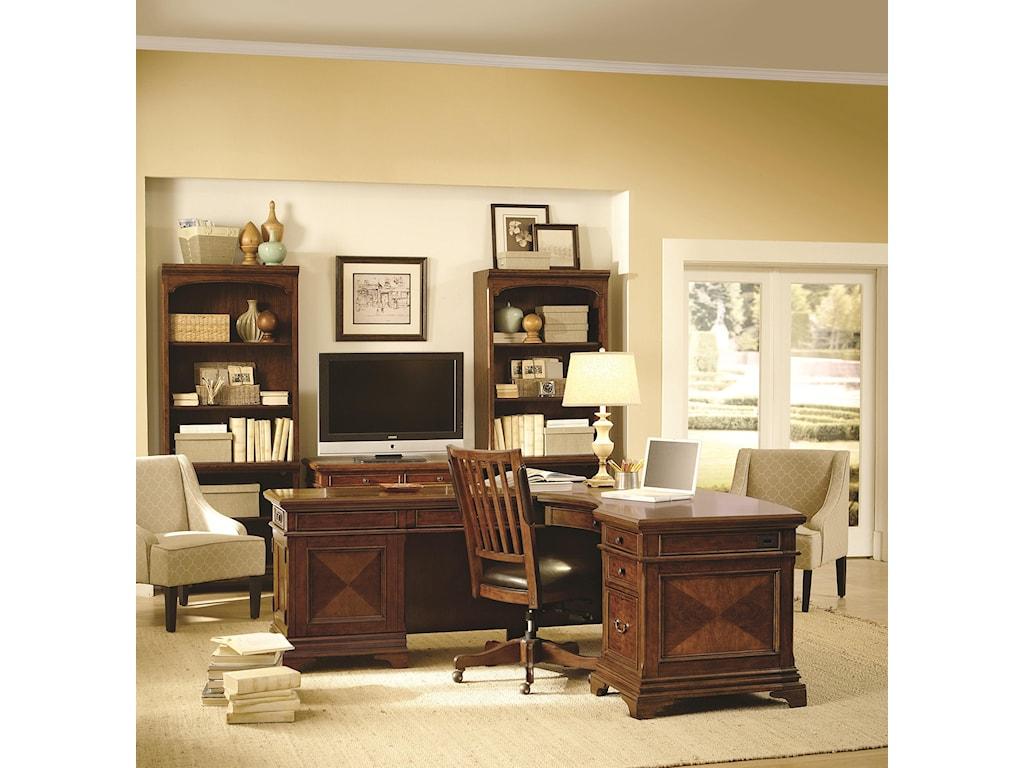 Aspenhome HawthorneL Shape Desk