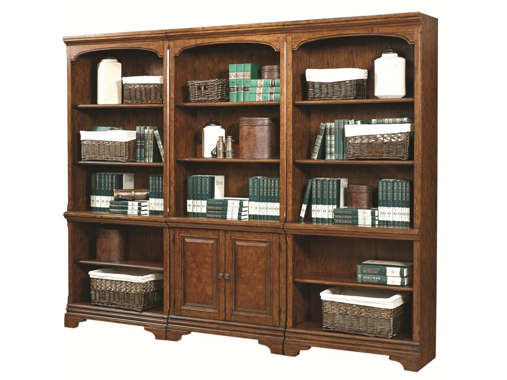 Aspenhome HawthorneBookcase Wall