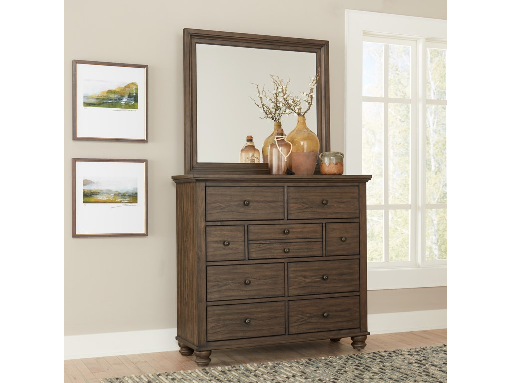 Aspenhome Hudson ValleyWide Chest of Drawers