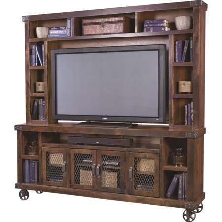 "84"" Console with Hutch"