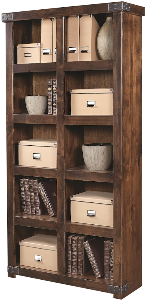 Aspenhome (Clackamas Store Only) Industrial Display Case with 10 Shelves