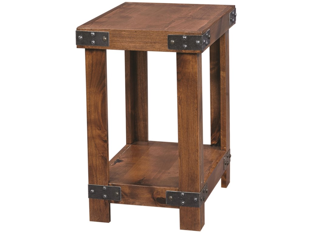 Aspenhome IndustrialChairside Table