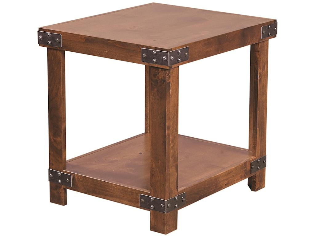 Aspenhome IndustrialEnd Table