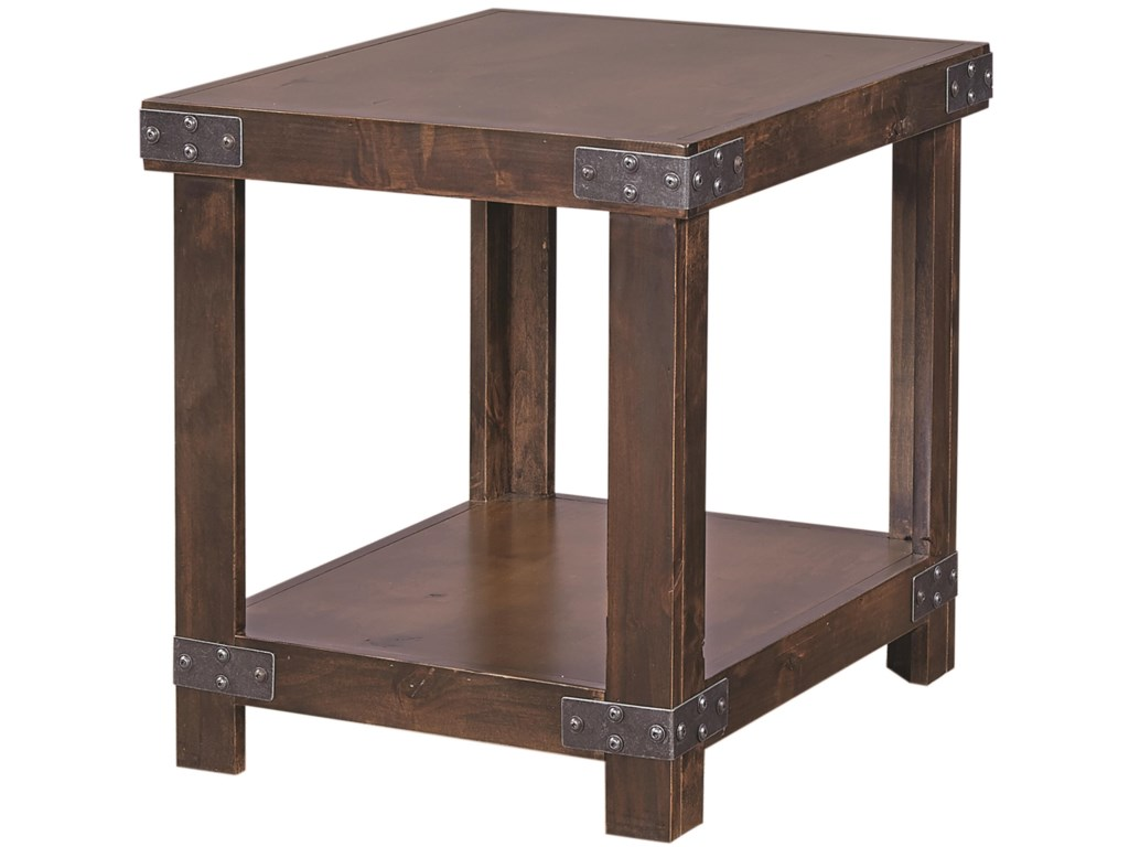 Aspenhome IndustrialEnd Table