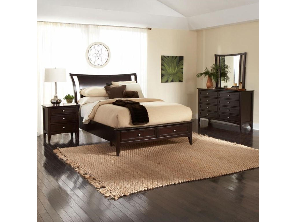 beds drawers product bed item with city underbed bedroom storage value w tribeca furniture gray queen