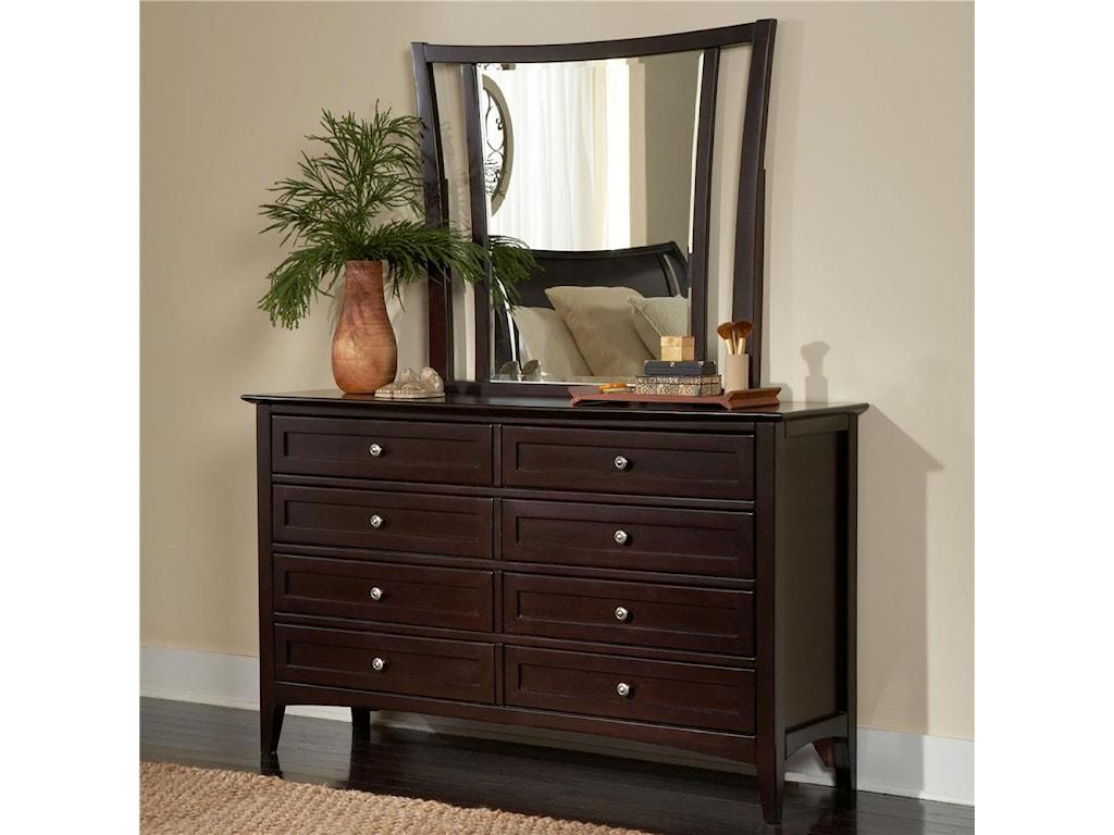 Dresser Featured with Mirror