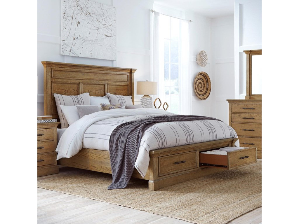 Highland Court MansfieldMansfield Queen Panel Storage Bed
