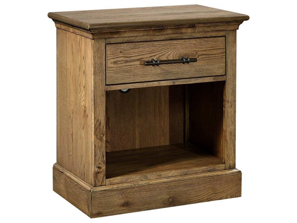 Aspenhome Manchester1 Drawer Nightstand