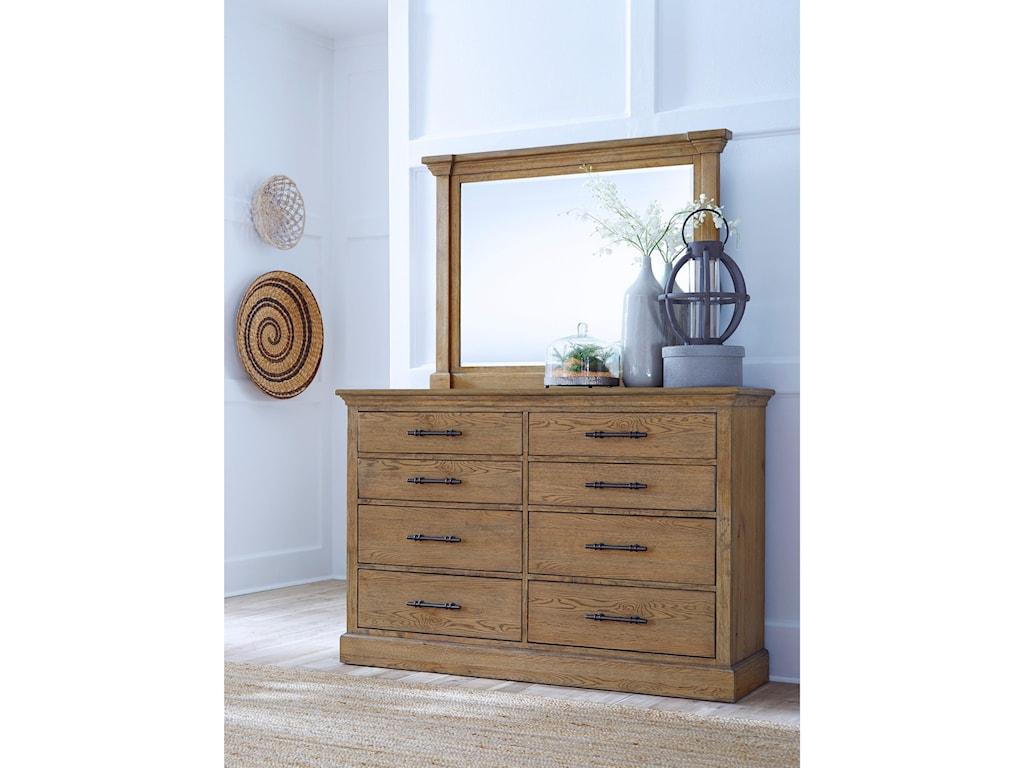 Highland Court MansfieldMansfield Beveled Dresser Mirror
