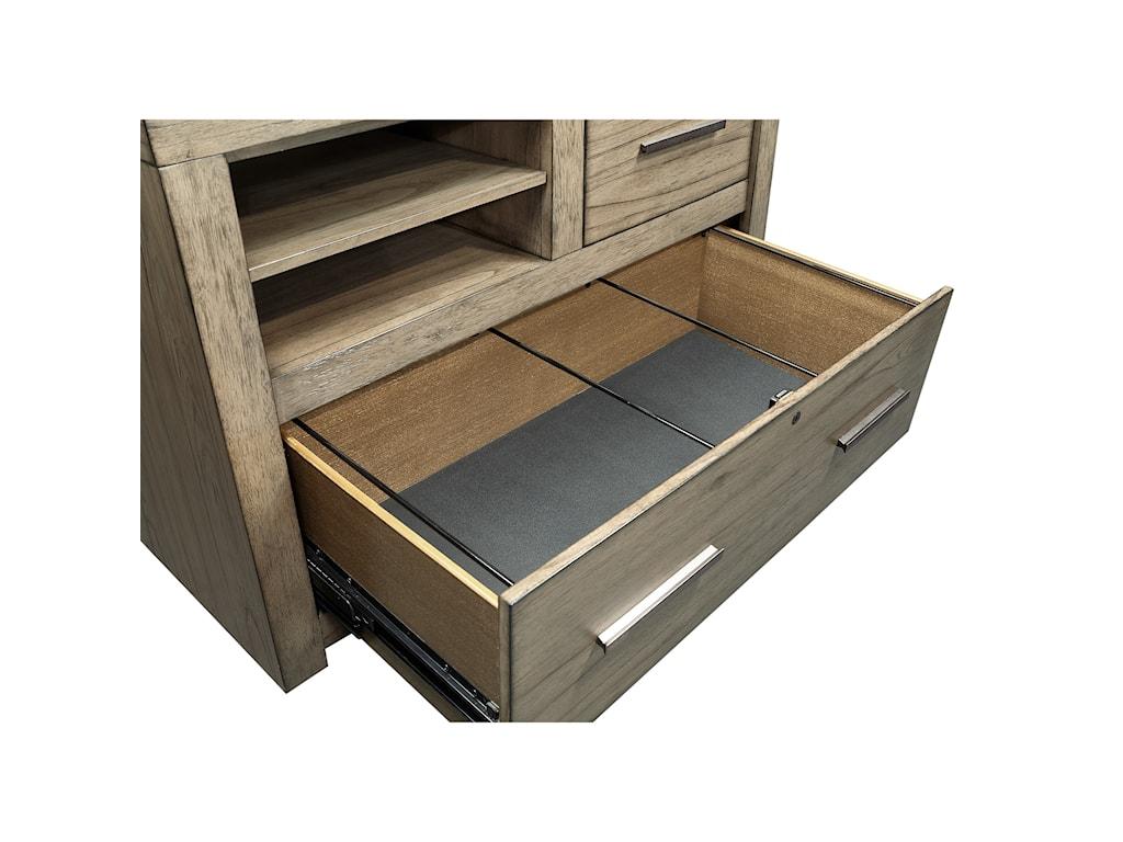 Aspenhome Modern LoftCombo File