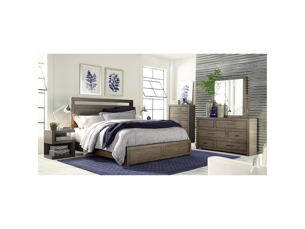 Highland Court MorenoMoreno Queen Panel Bed
