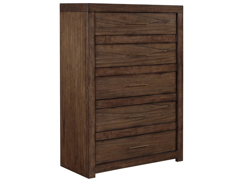 Aspenhome Modern Loft5 Drawer Chest