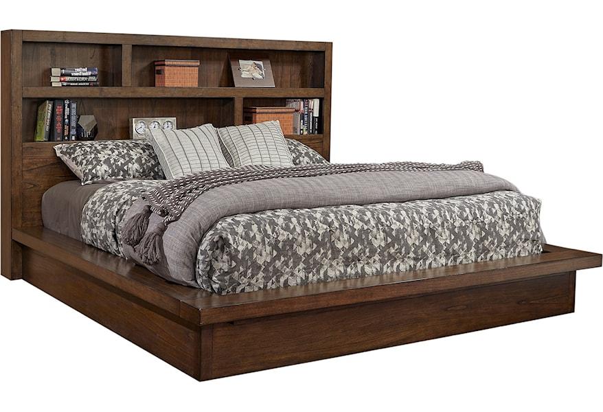 Aspenhome Modern Loft King Platform Bed