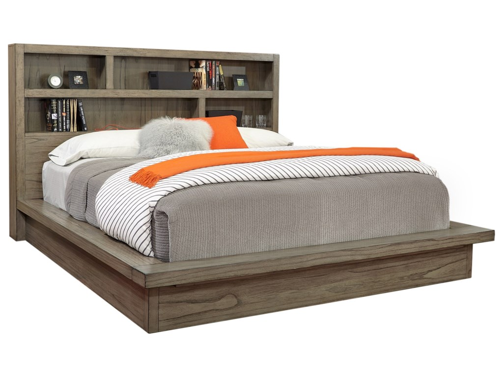 Aspenhome Modern LoftCalifornia King Platform Bed
