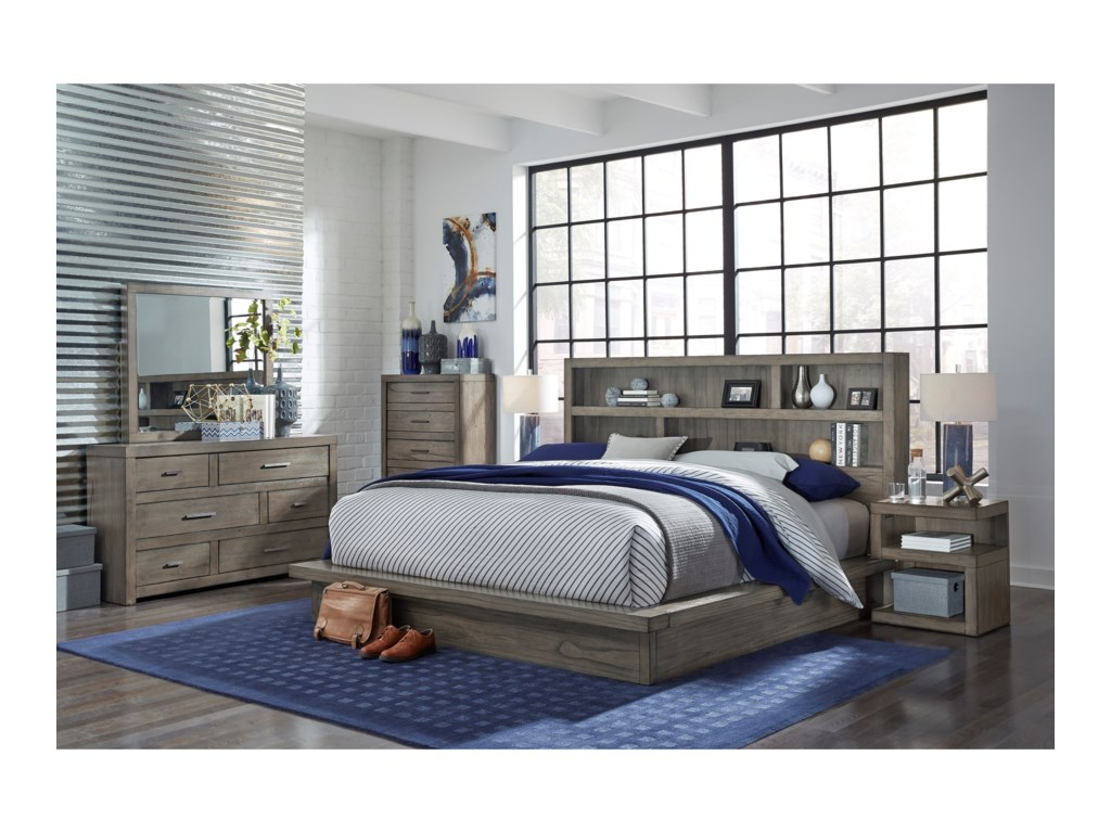 Aspenhome Modern LoftCalifornia King Bedroom Group