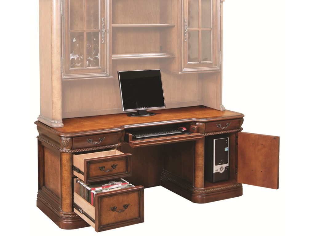 Aspenhome Napa Double Pedestal Desk