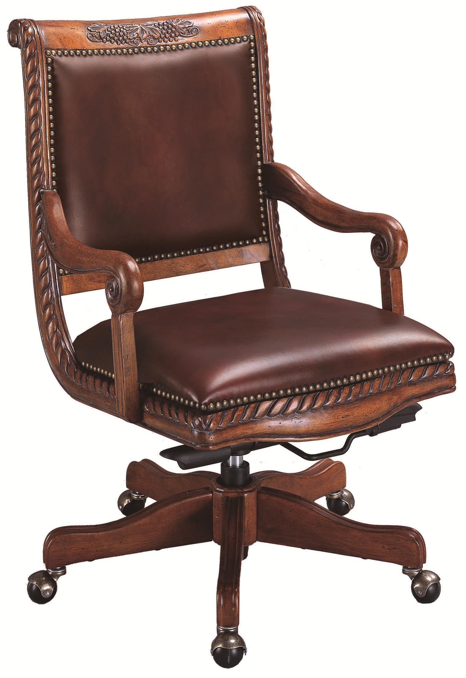Aspenhome Napa Leather Office Chair   Baeru0027s Furniture   Office Side Chair
