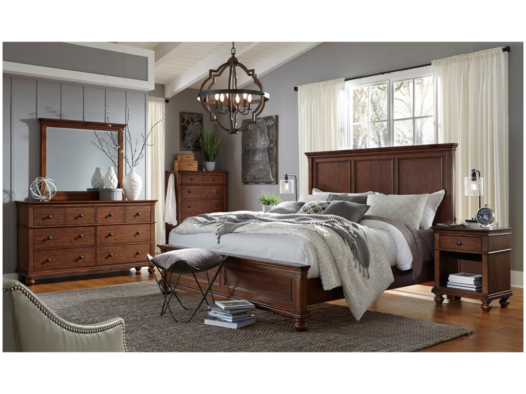 Aspenhome OxfordKing Bed