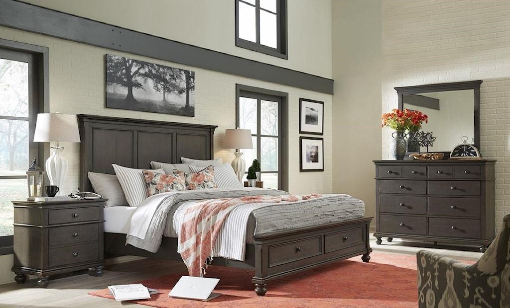 hills of aspen oxford 4 piece king bedroom set ruby gordon