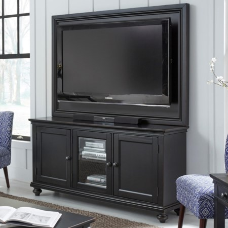 """65"""" TV Stand With Backer"""