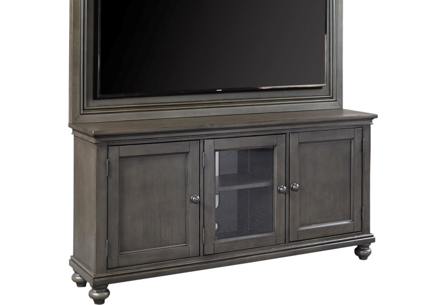 Aspenhome Oxford I07 264 Pep 65 Tv Stand With Adjustable Shelves Dunk Bright Furniture Tv Stands