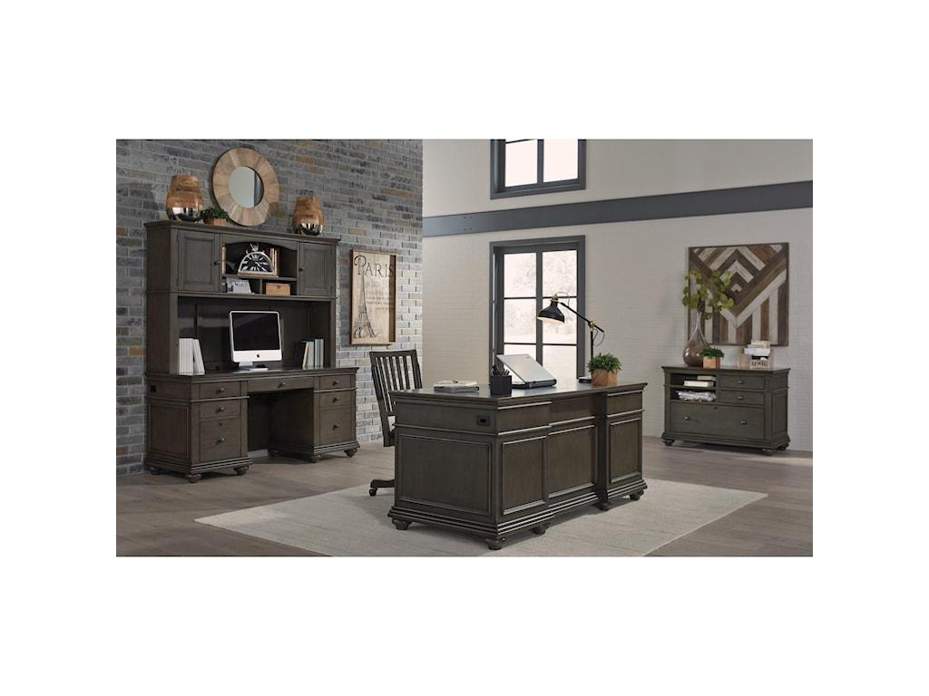 Aspenhome OxfordExecutive Desk