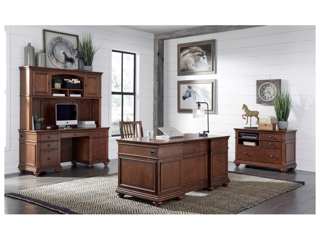 Aspenhome OxfordExecutive Desk