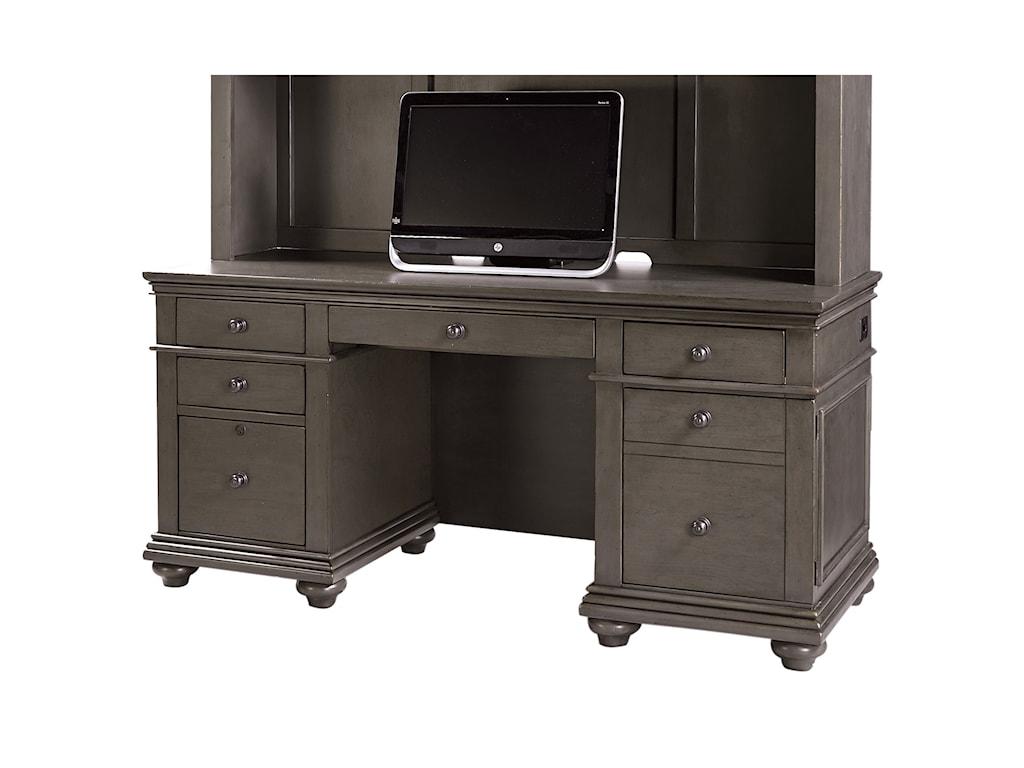 Aspenhome OxfordCredenza Desk