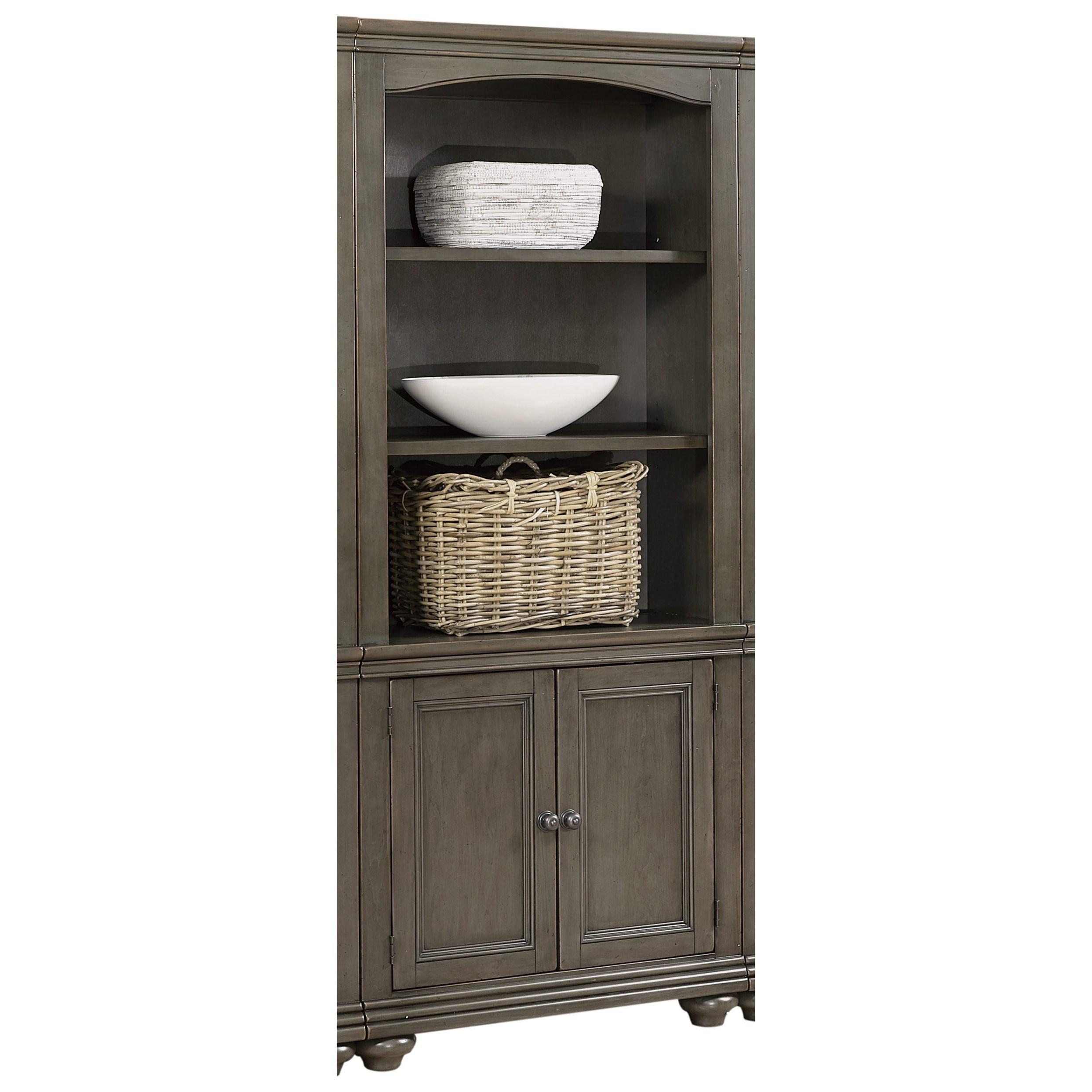 Door Bookcase with Adjustable Shelves