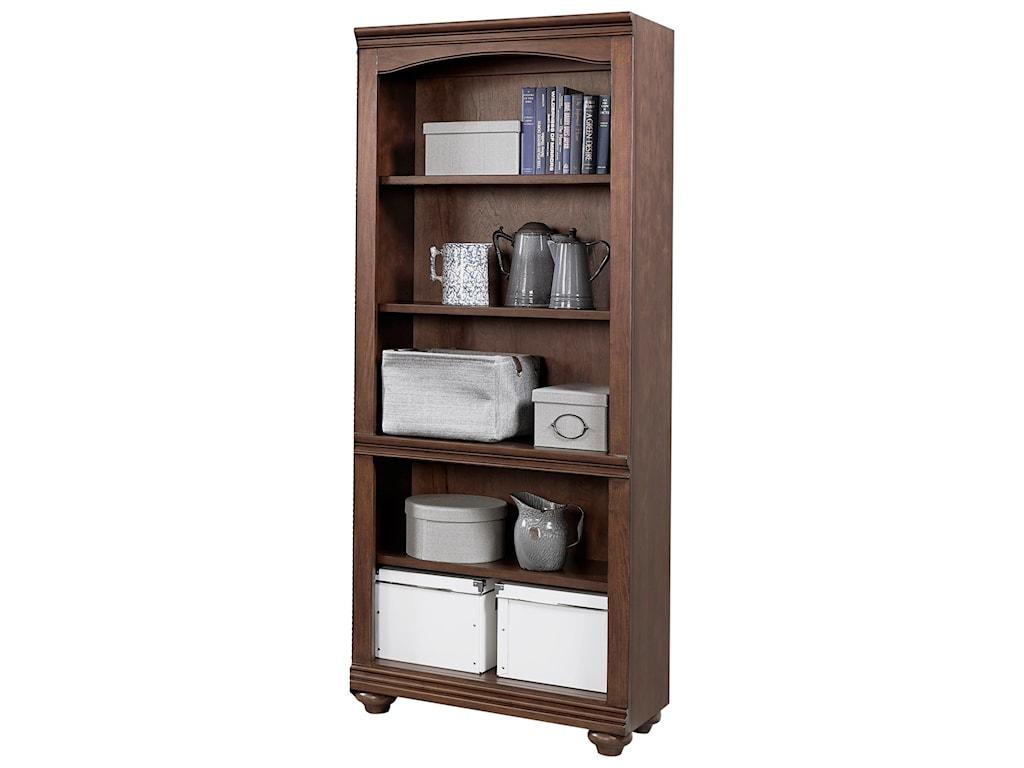 Aspenhome OxfordOpen Bookcase