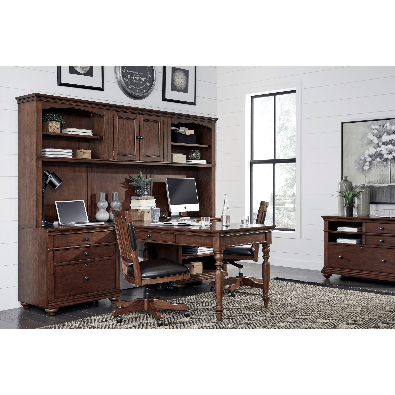 ... Aspenhome OxfordModular Home Office Wall Unit