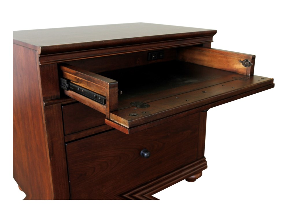Aspenhome Oxford4 Piece Desk Package