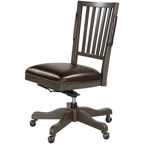 Aspenhome Oxford Armless Office Chair