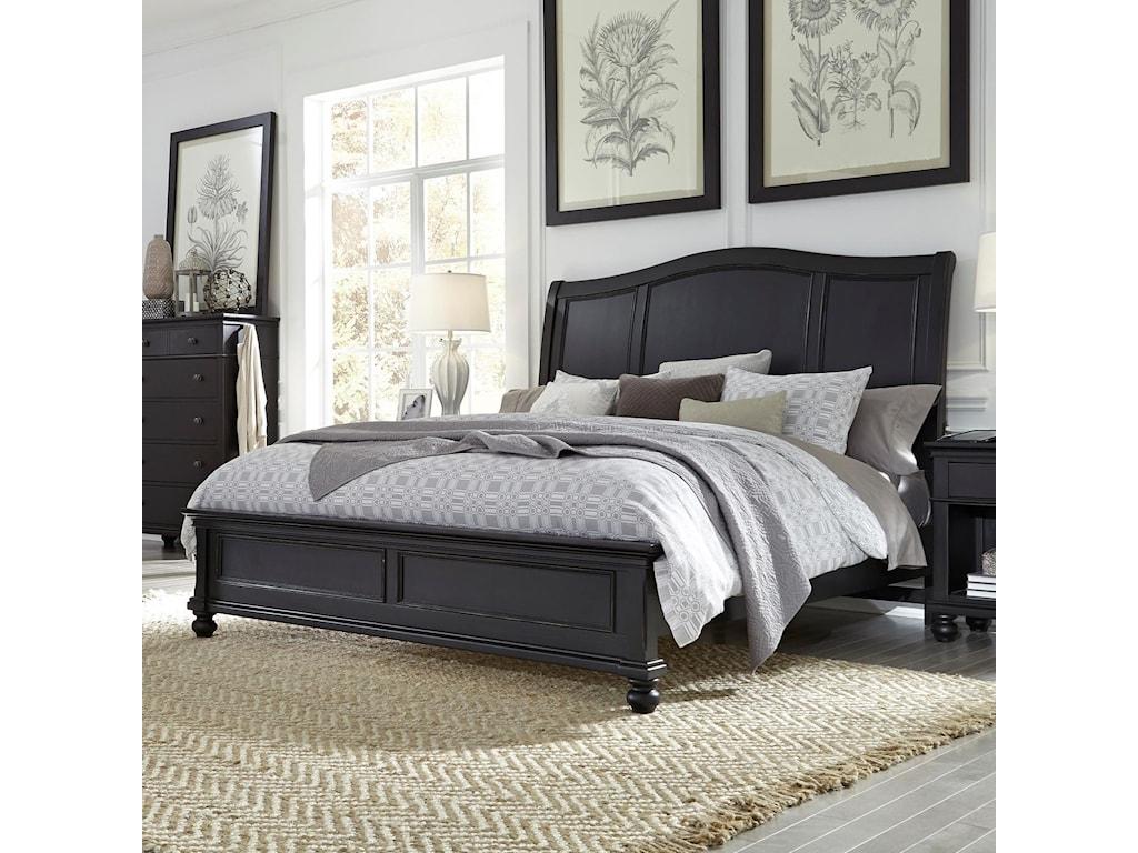 Aspenhome OxfordQueen Bed