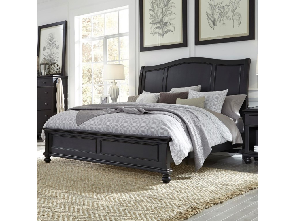 Aspenhome OxfordCal King Bed