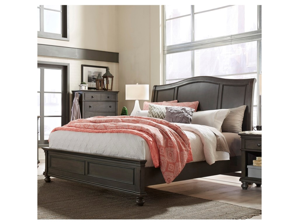Aspenhome OxfordCalifornia King Sleigh Bed