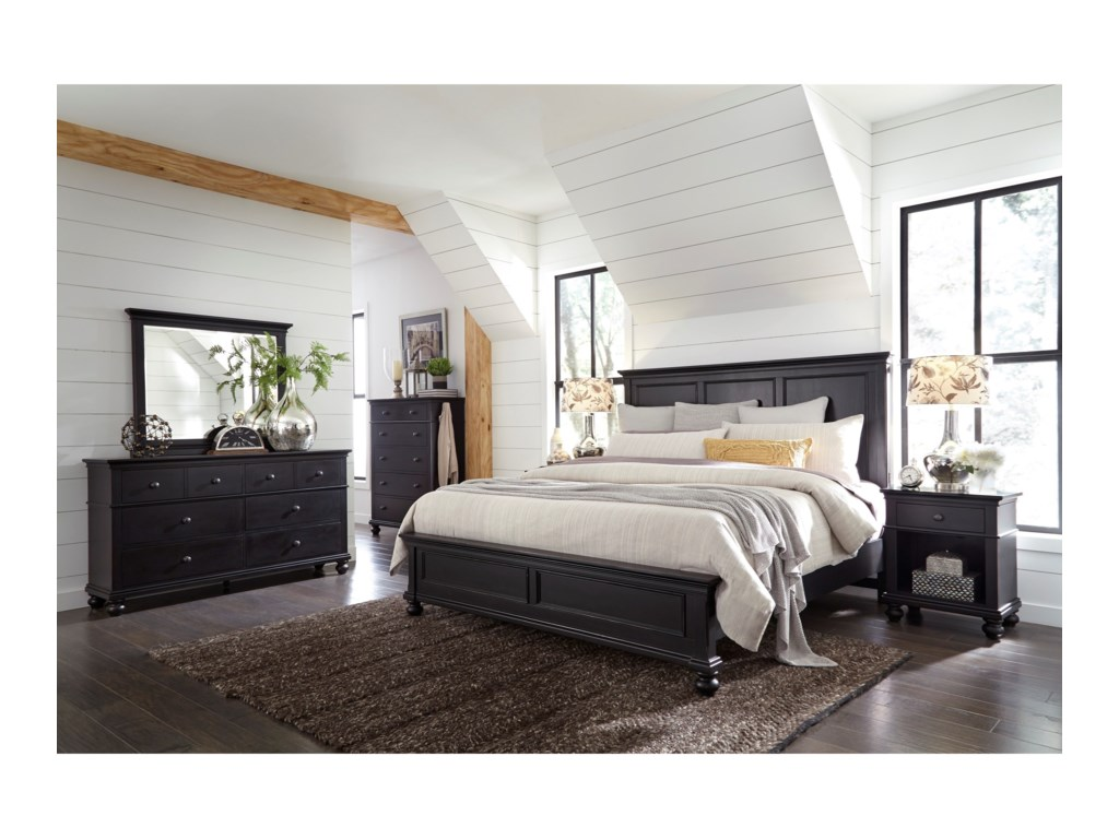 Aspenhome OxfordQueen Bed