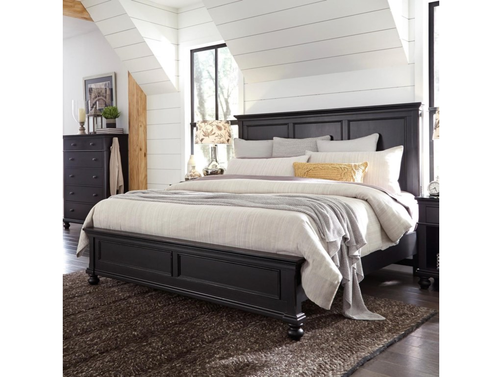Aspenhome OxfordCalifornia King Panel Bed