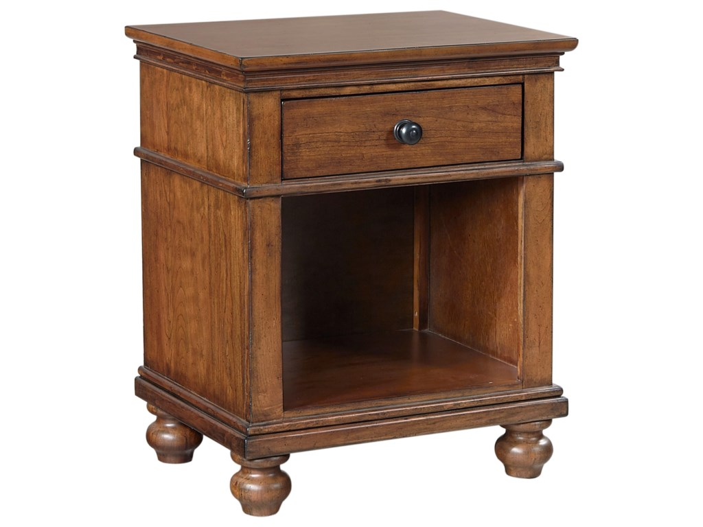 Aspenhome Oxford1 Drawer Nightstand