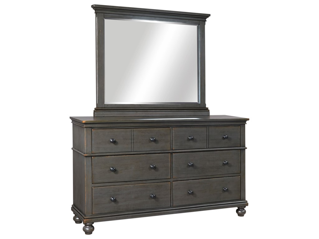Aspenhome CharlesDresser with Mirror