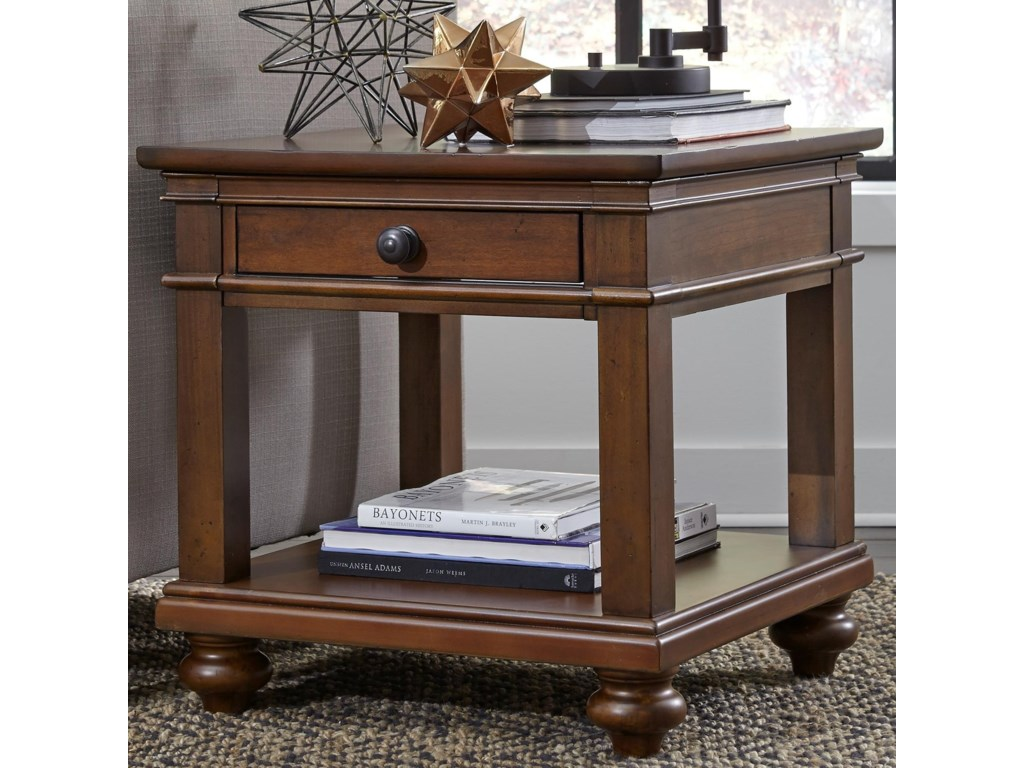 Aspenhome OxfordEnd Table