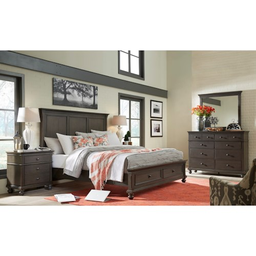 Aspenhome Oxford Queen Bedroom Group