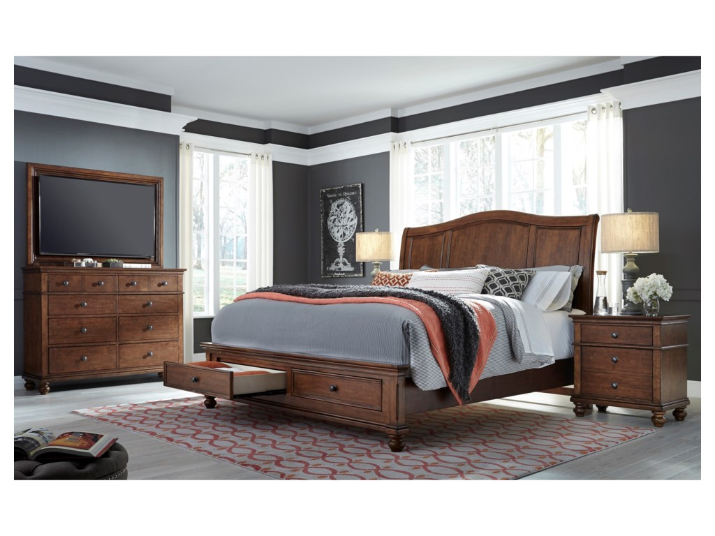 Aspenhome OxfordQueen Bedroom Group