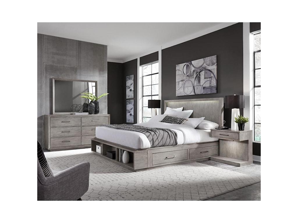 Aspenhome PlatinumKing Bed