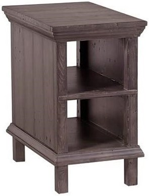 Aspenhome (Clackamas Store Only) Preferences Chairside Table with 2 Shelves