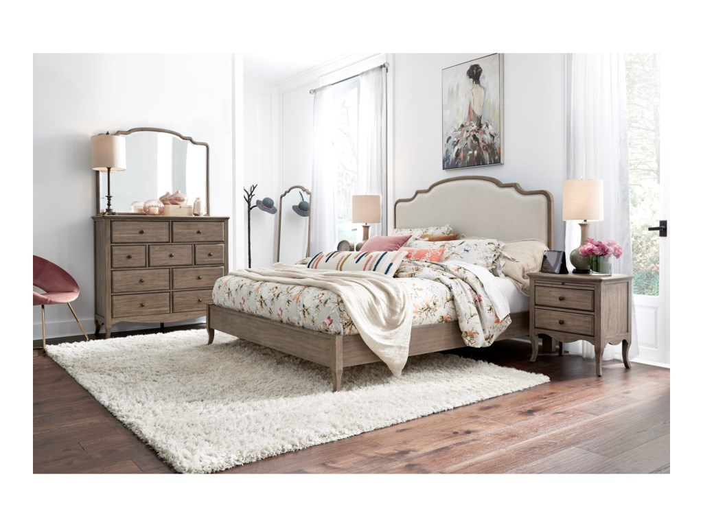 Aspenhome ProvenceQueen Bedroom Group