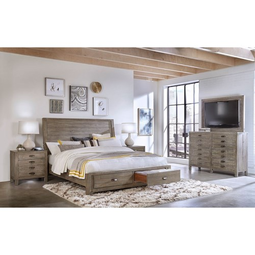 Aspenhome Radiata California King Bedroom Group